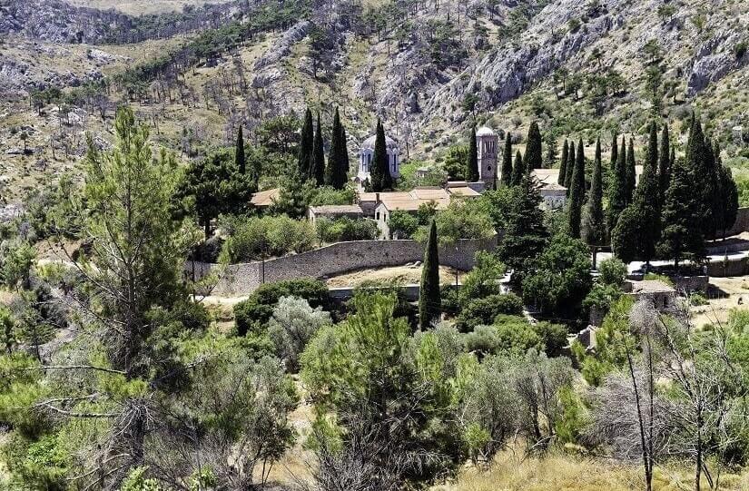 Kloster Nea Moni auf Chios