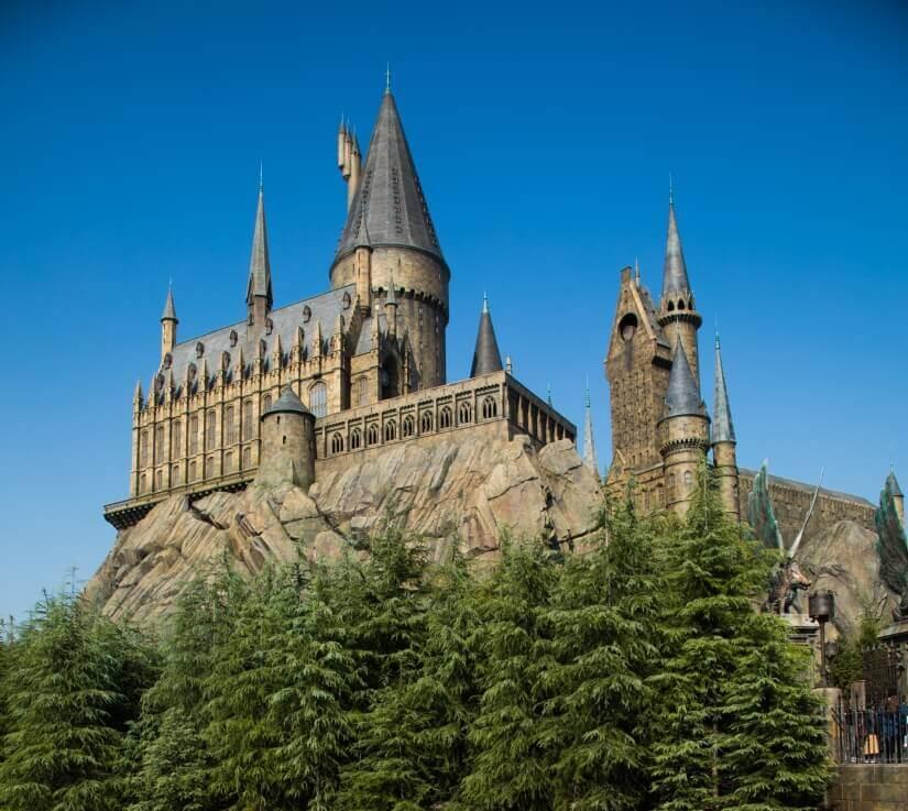 Schloss Hogwarts Nachbau