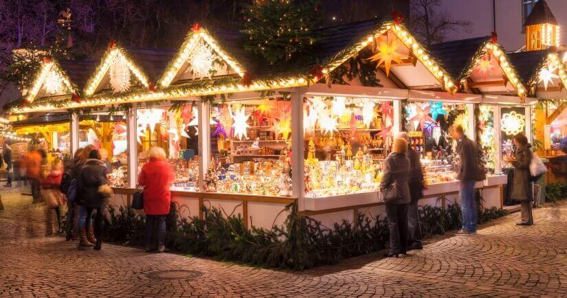 Weihnachtsmarkt Deutschland Stand