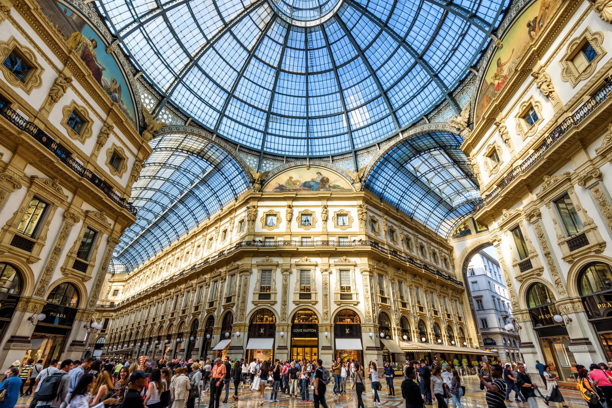 Bild Galleria Vittorio Emanuele II, Mailand