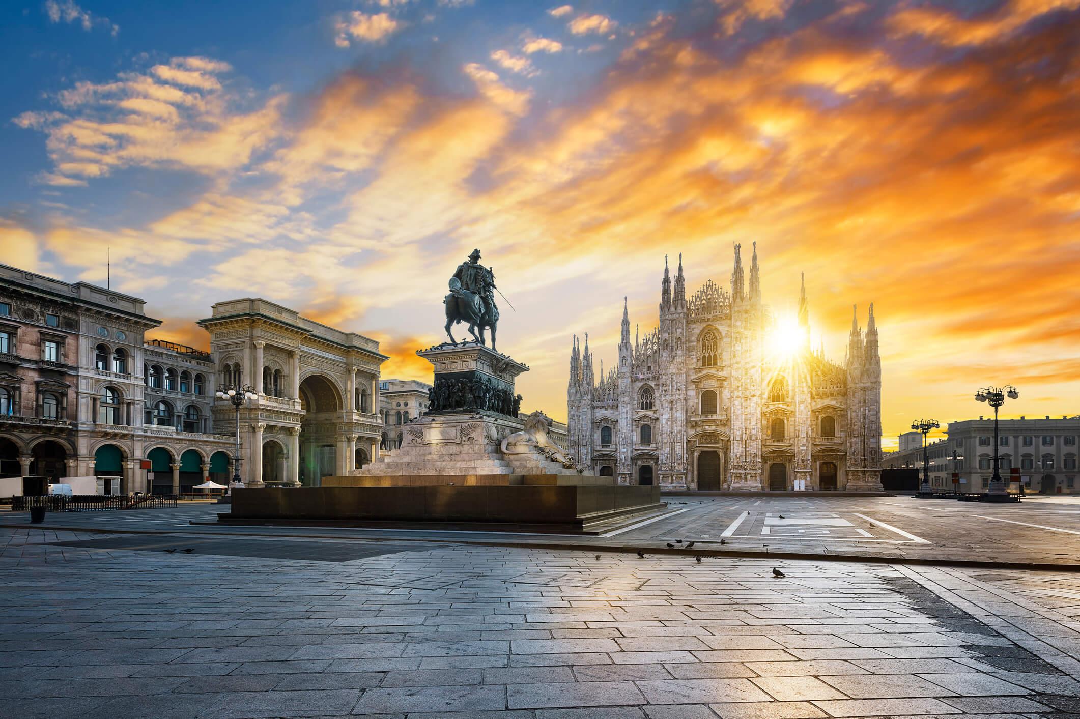 Bild Marktplatz, Mailand