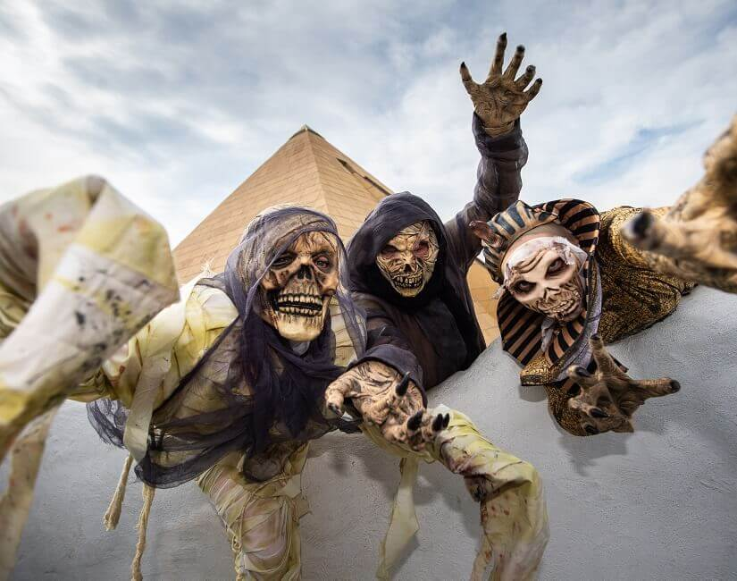 Mumien im Freizeitpark Belantis
