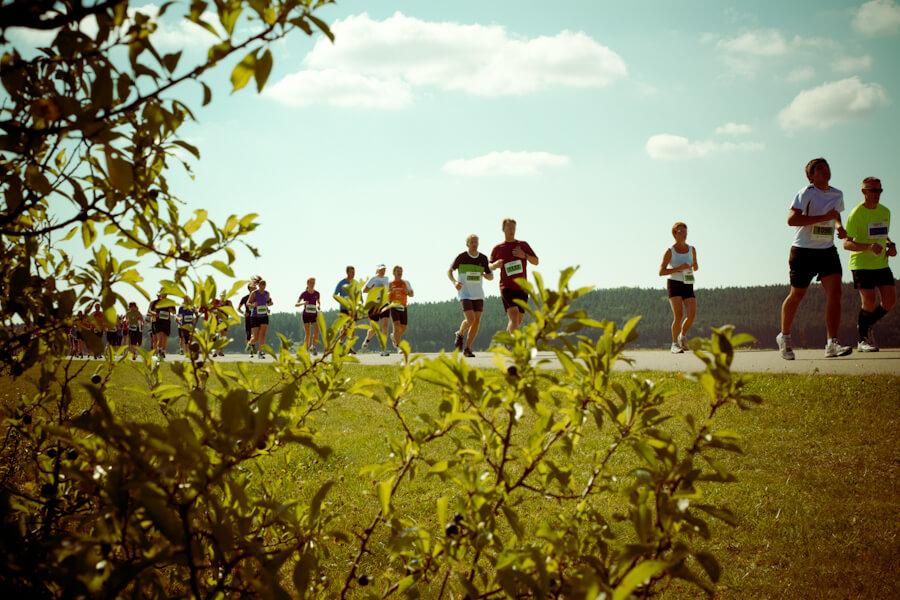 Seenlandmarathon Läufer