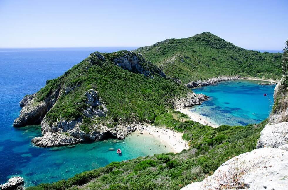 Bild Bucht auf Korfu