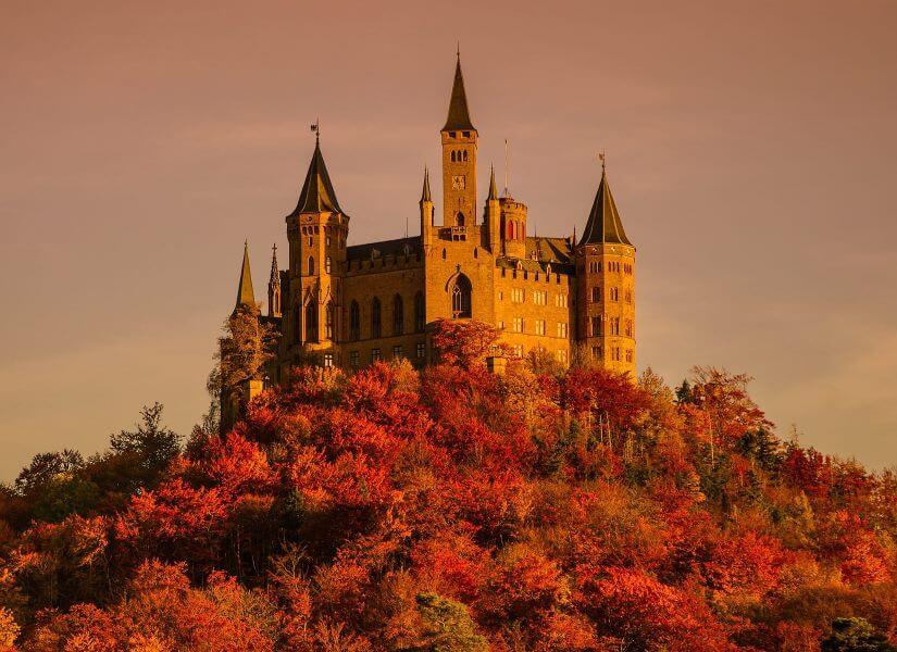 Burg Hohenzollern, Baden Würtemberg