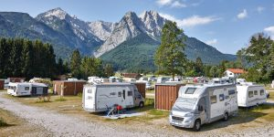 Camping Resort Zugspitze Campingplatz Foto