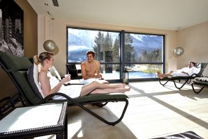 Camping Resort Zugspitze Sauna Foto
