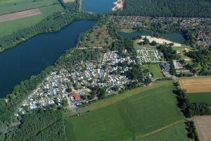 Campingpark Haddorfer Seen Übersicht Foto