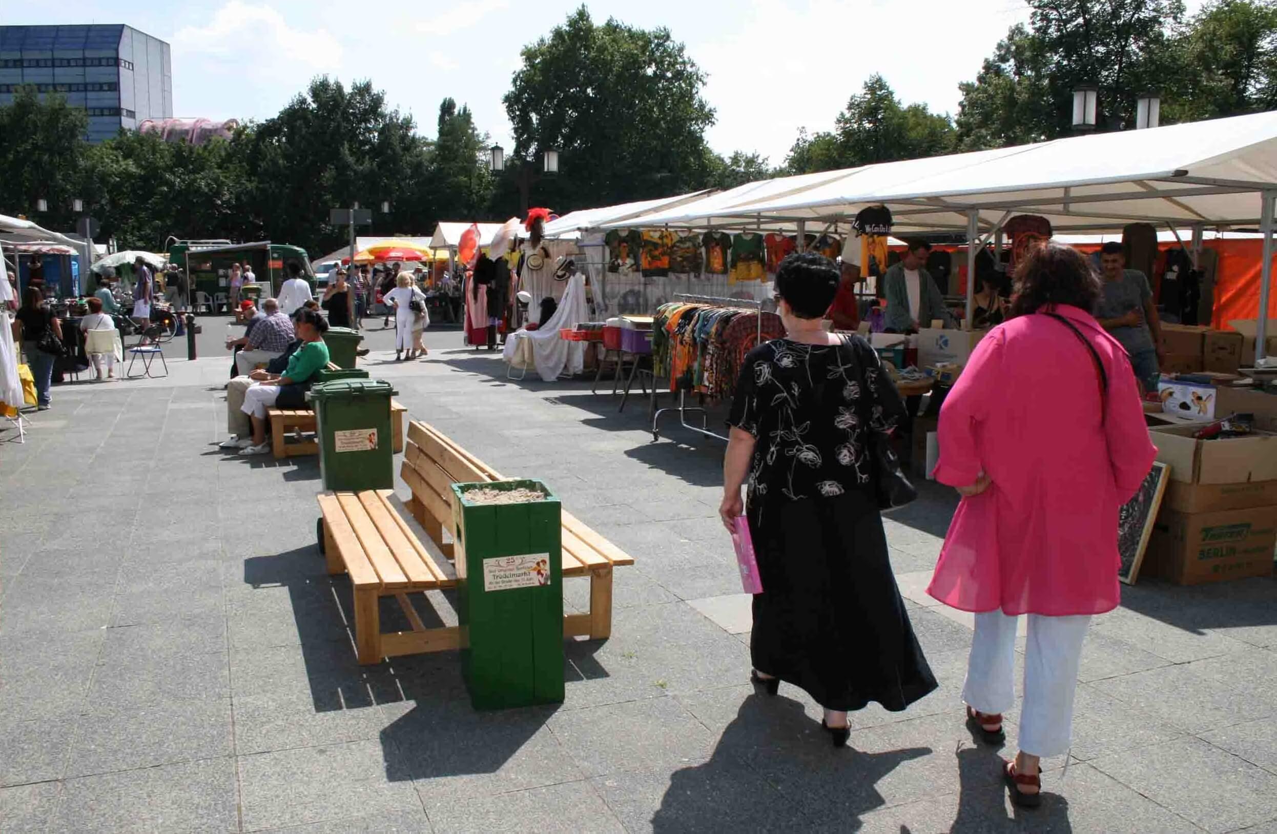 Trödelmarkt, Berlin, Antiquitäten
