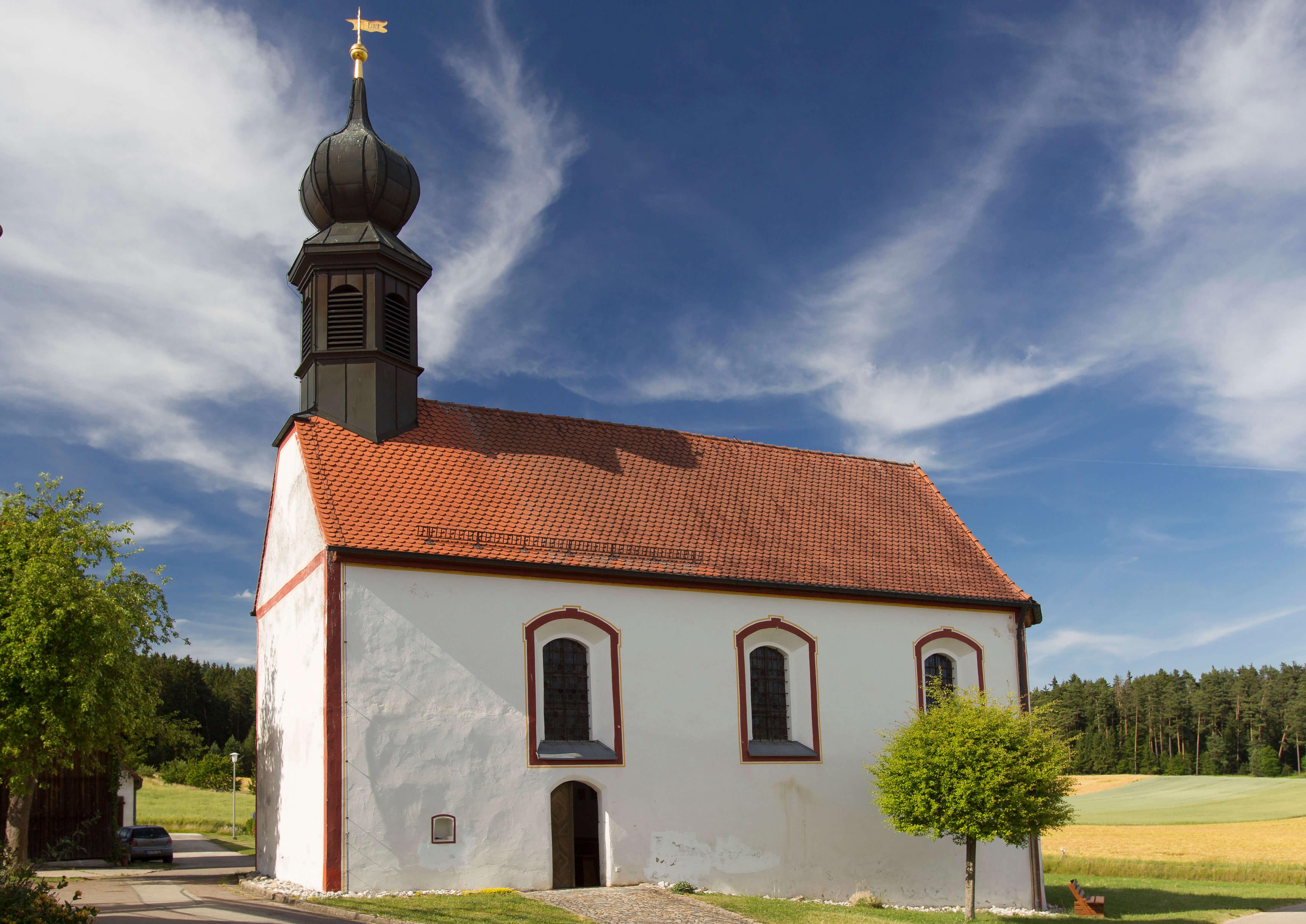 Simultankirche Frankenhof St.Margareta, Kirche
