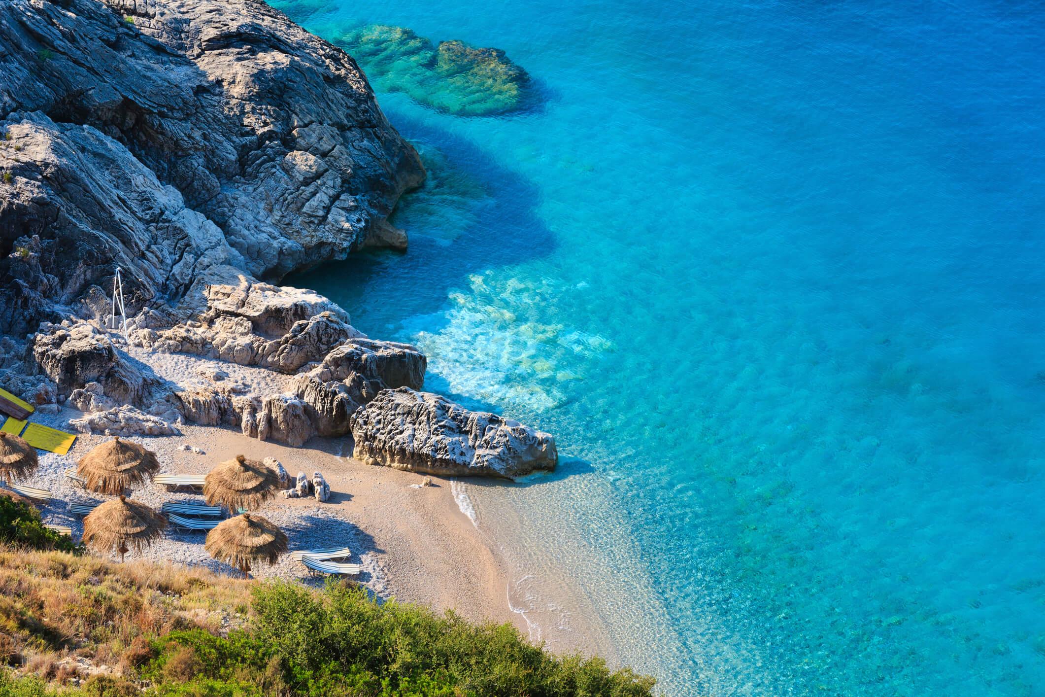 Bild Baden am Ionischen Meer