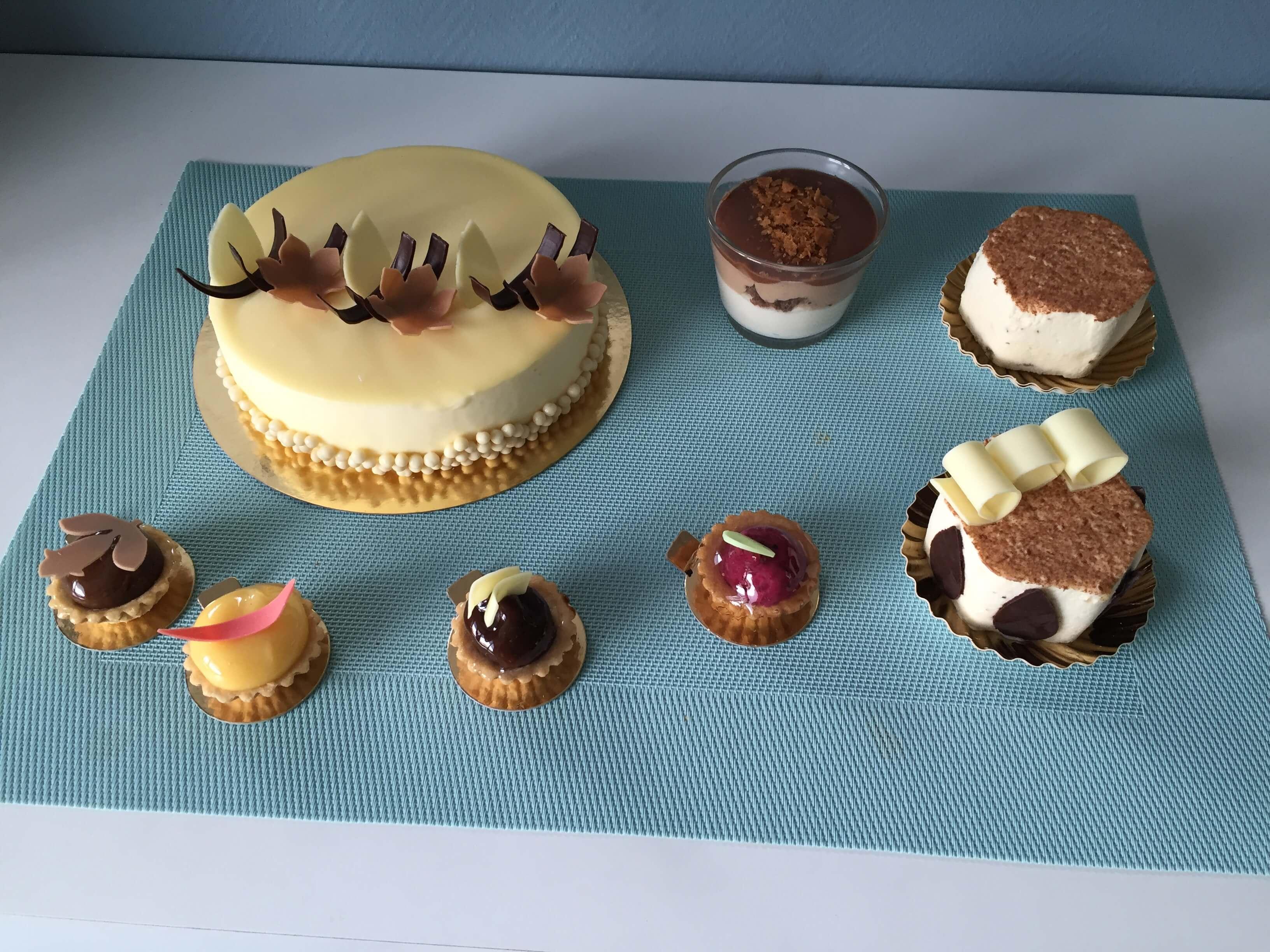Kuchen, Dessert