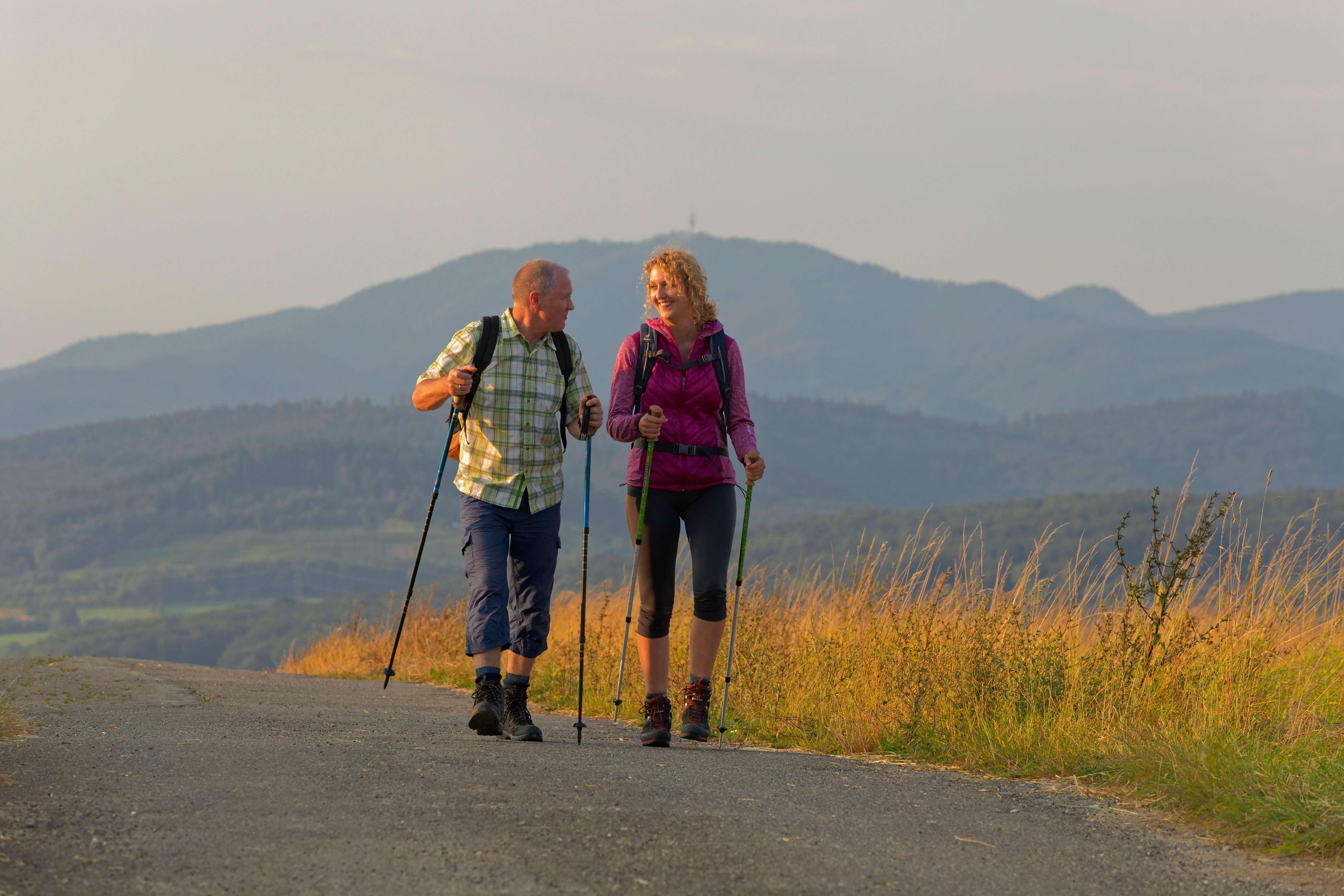 Wandern und Fahrradfahren in Lörrach, Wege auf dem Tüllinger an der Lucke