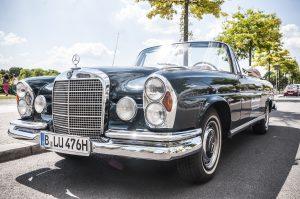 Mercedes Cabrio, Oldtimer