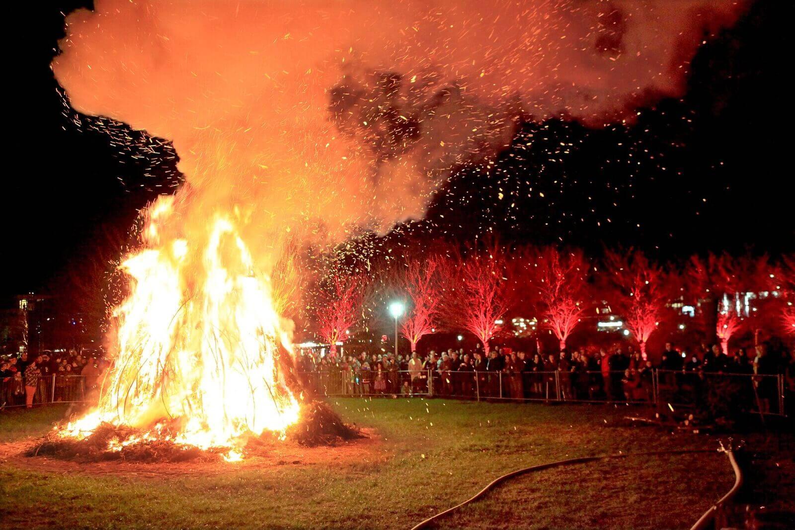 Feuerspektakel, Walpurgisnacht 2017 in Hahnenklee