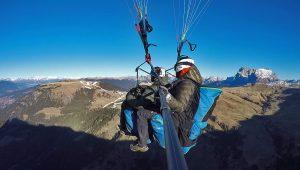 Paragliding an Sylvester