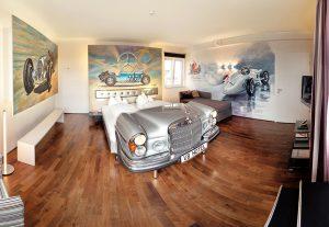 V8 Hotel von innen / Fotograf: Frank Hoppe