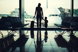 Gestrandet am Flughafen