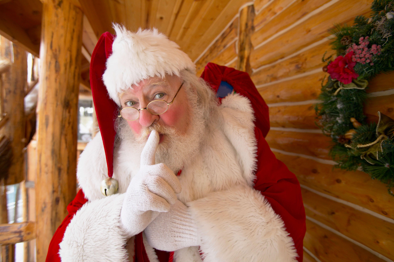 Bild Alternativen zu Weihnachten, Weihnachtsmann, Hütte