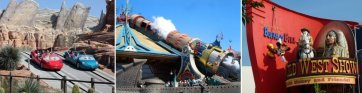 Attraktionen im Disneyland Paris