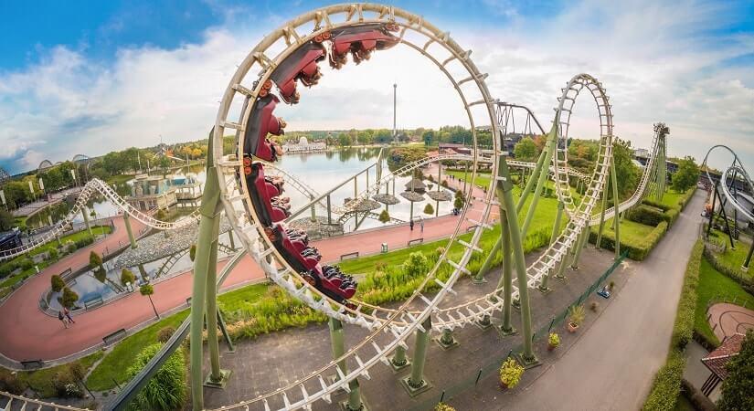 Achterbahn Big Loop im Heide Park Resort
