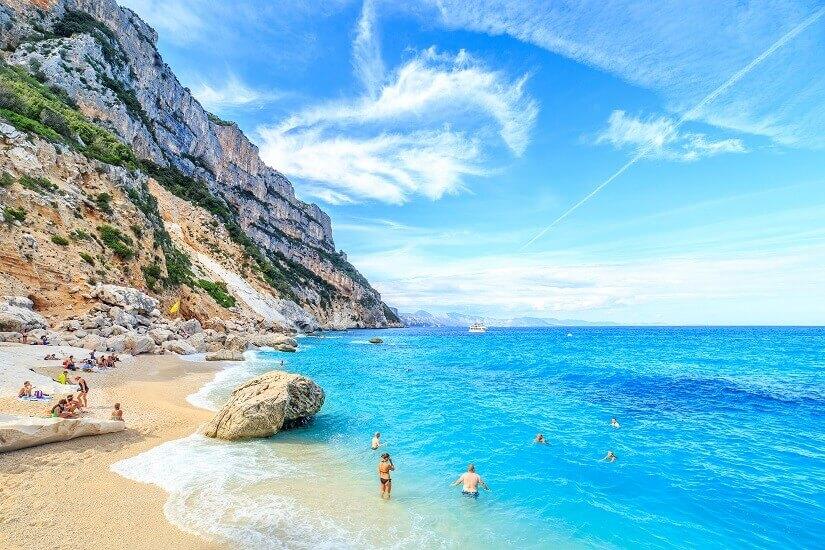 Badestrand auf Sardinien