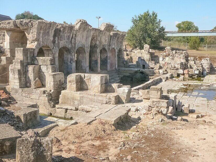 Fordongianus Thermalquellen auf Sardinien