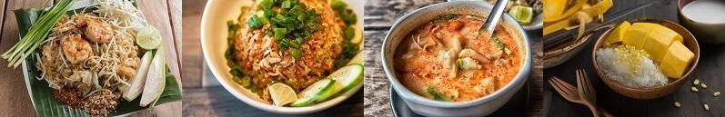 Bild Thailändische Speisen