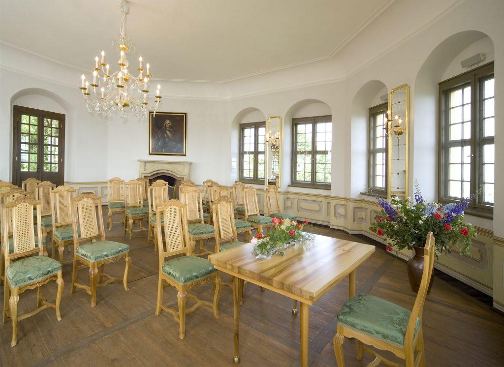 Festsaal in der Festung Königstein