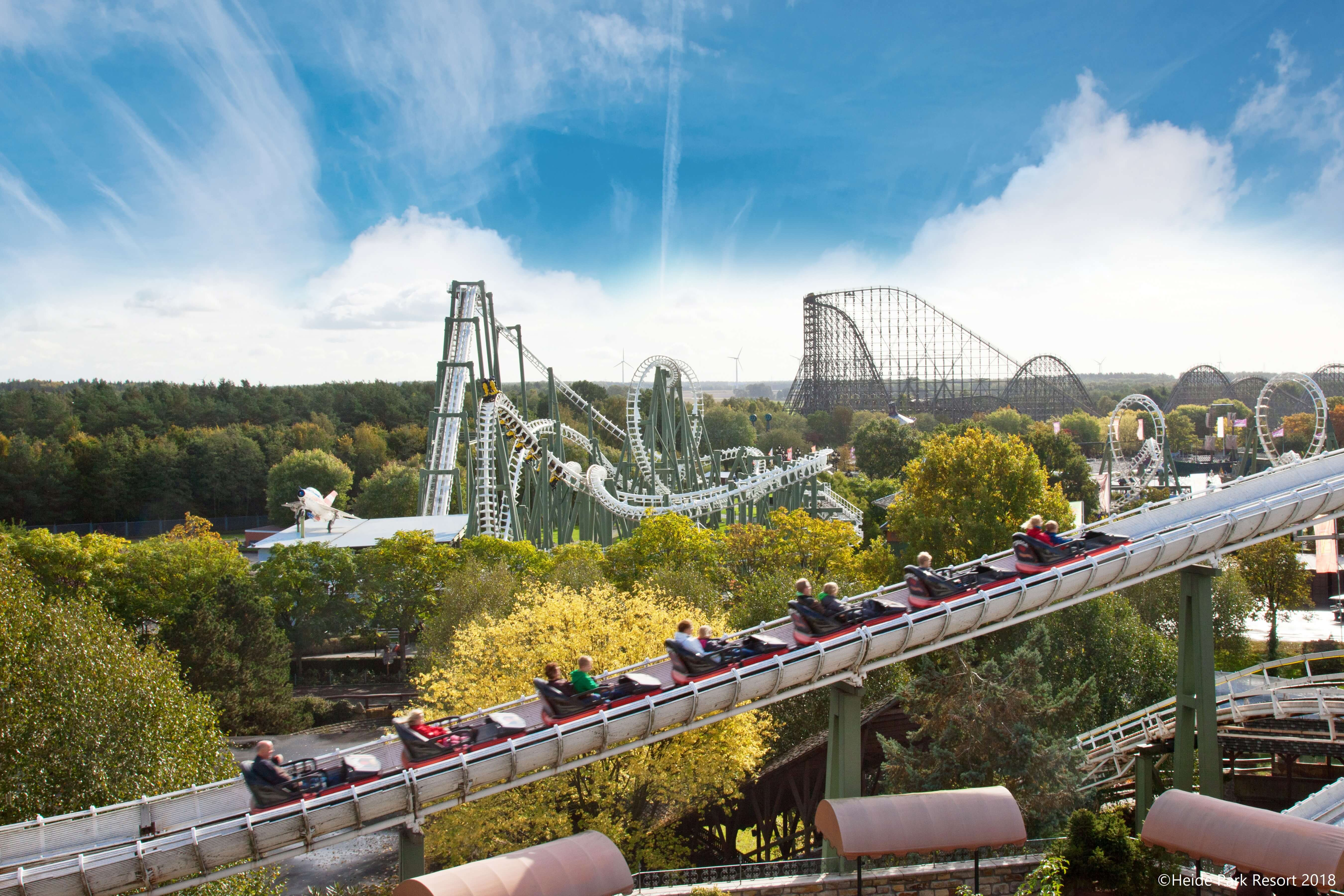 Heide Park Resort Der Freizeitpark In Deutschlands Norden