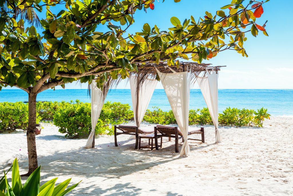 Bild Strand auf Sansibar