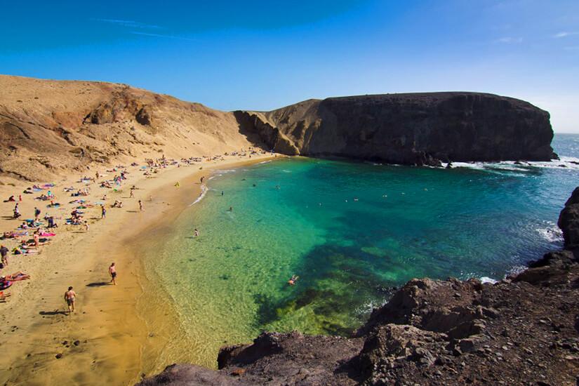 Playas de Papagayo auf Lanzarote