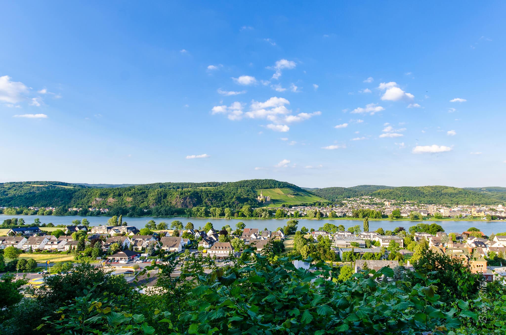 Blick vom Aussichtsturm des Märchenwalds