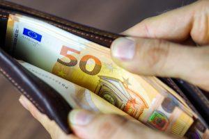 Bild Geld im Urlaub
