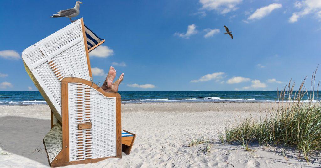 Im Strandkorb relaxen ist etwas schönes an der Ostsee