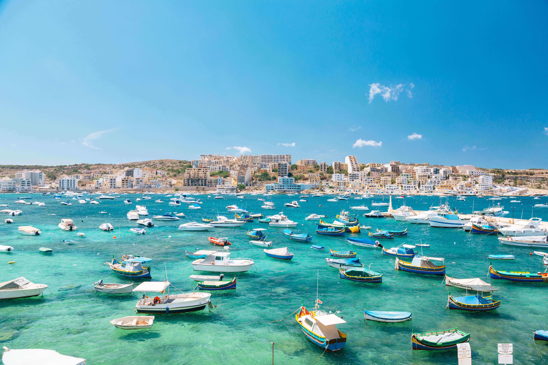 Nördliche Küste von Malta