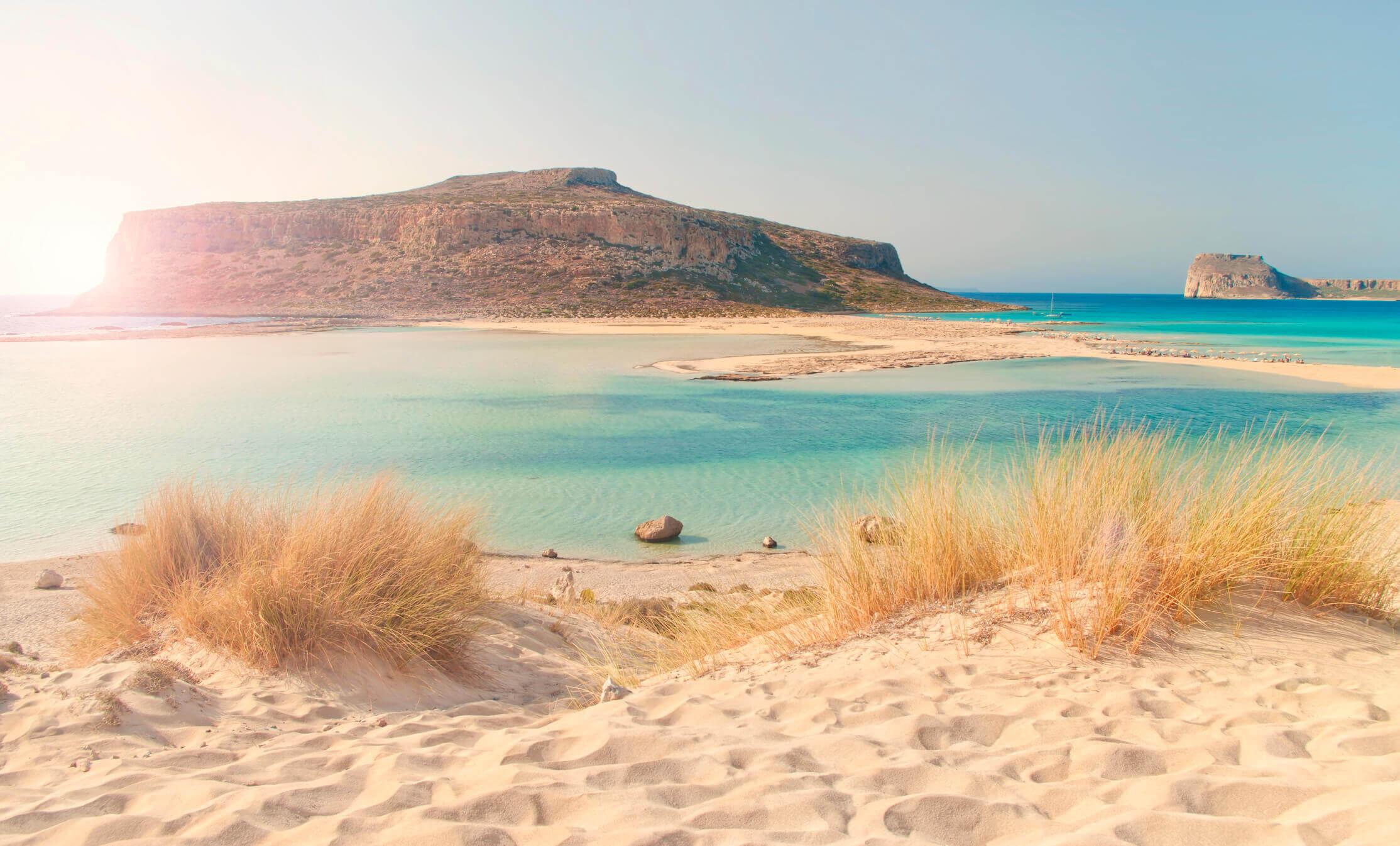 Strand bei Chania auf Kreta