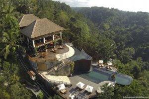 Das Hanging Gardens Hotel auf Bali