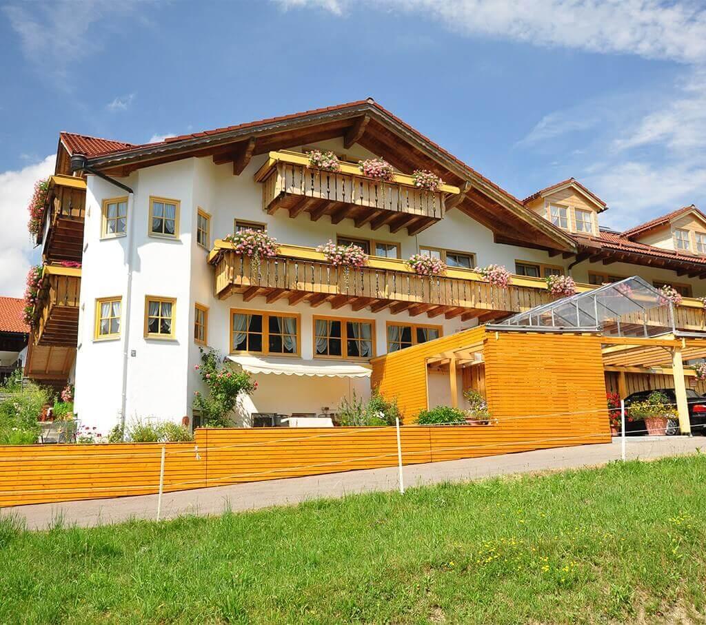 Vegetarisches Biohotel Berghüs Schratt