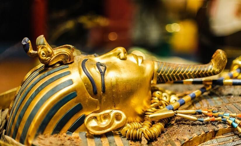 Maske von Tutanchamun