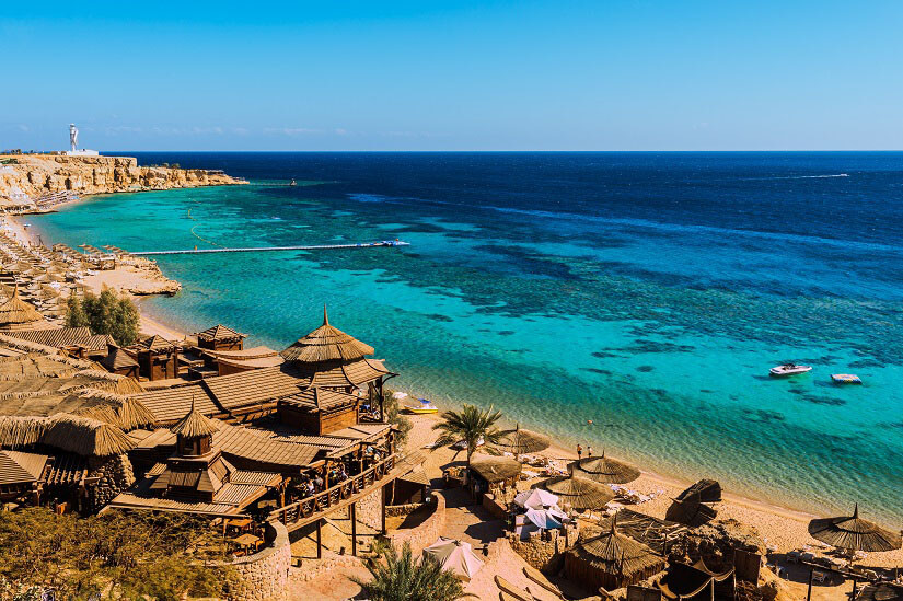 Strand von Sharm El Sheikh