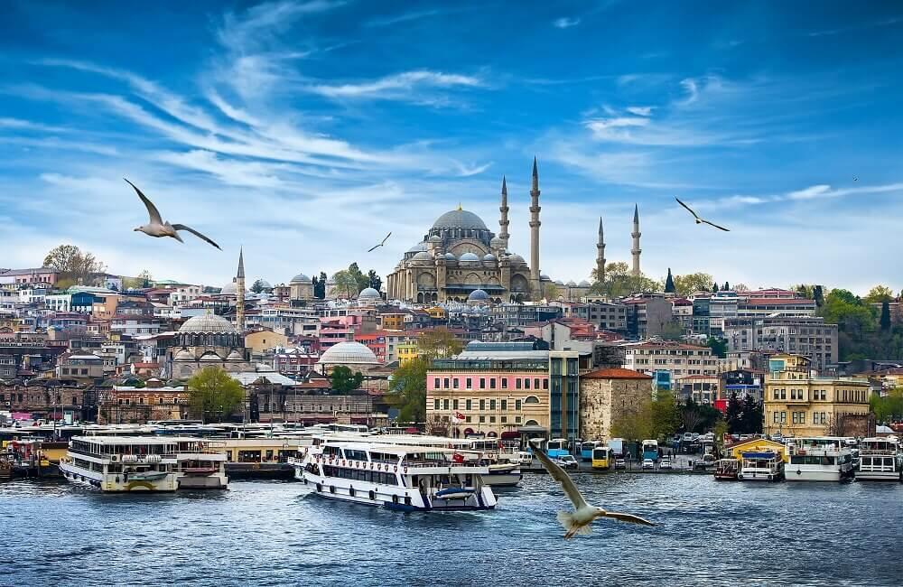 Istanbul vom Wasser