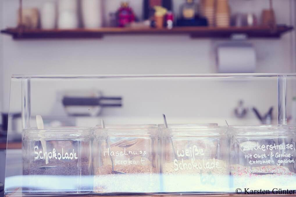 Eiscafé art & wEISe Zutaten