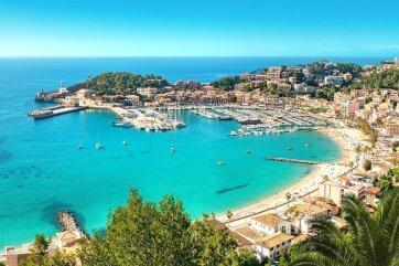 Port de Soller, Mallorca, Spanien