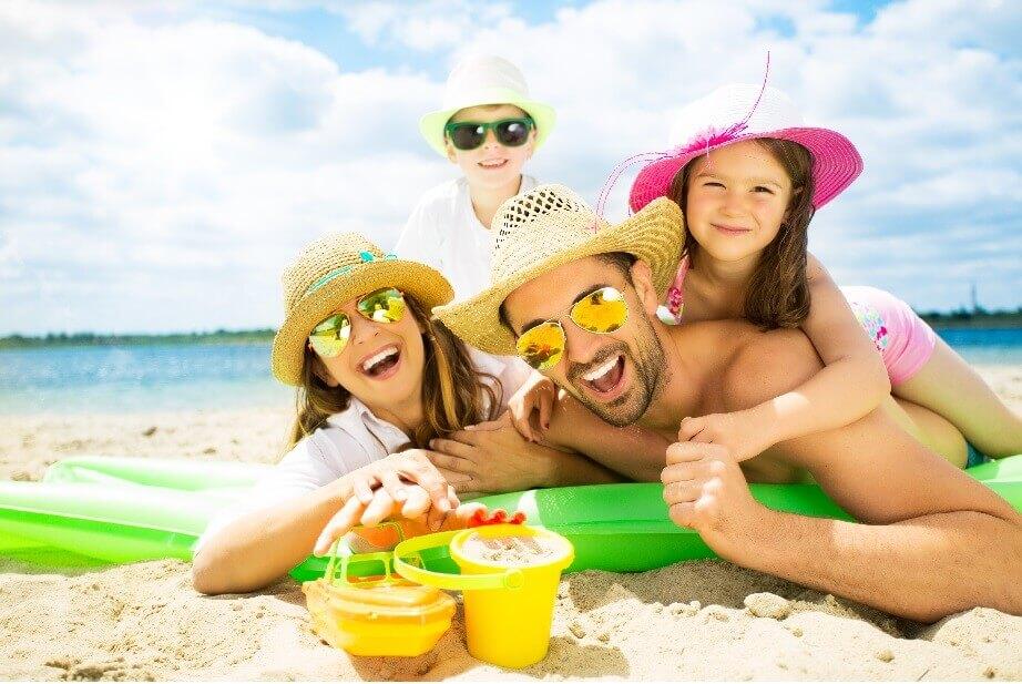 Urlaub am Meer mit der ganzen Familie