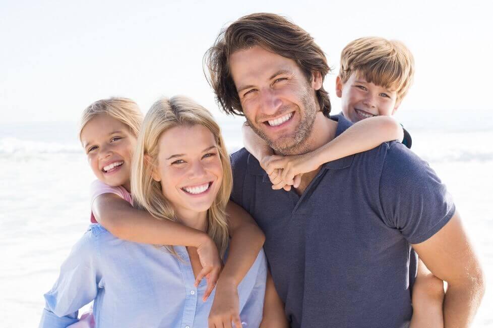 Familienglück im Urlaub
