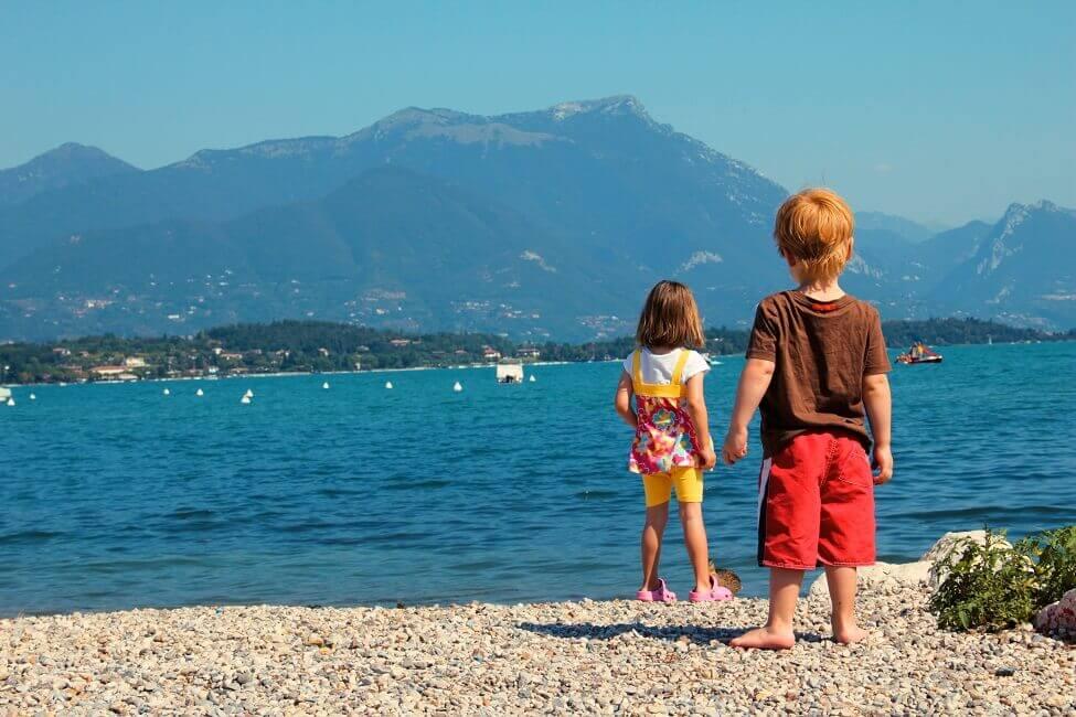 Bild Kinder am Gardasee