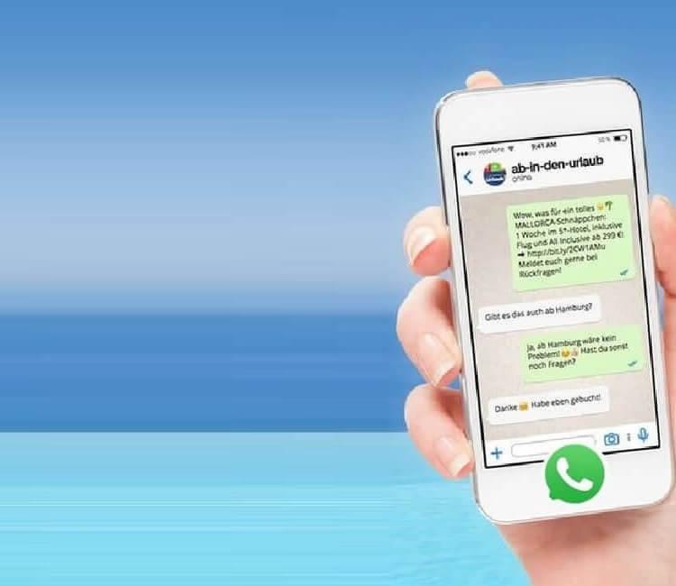 Unser Ab In Den Urlaubde Whatsapp Service Jetzt Ausprobieren
