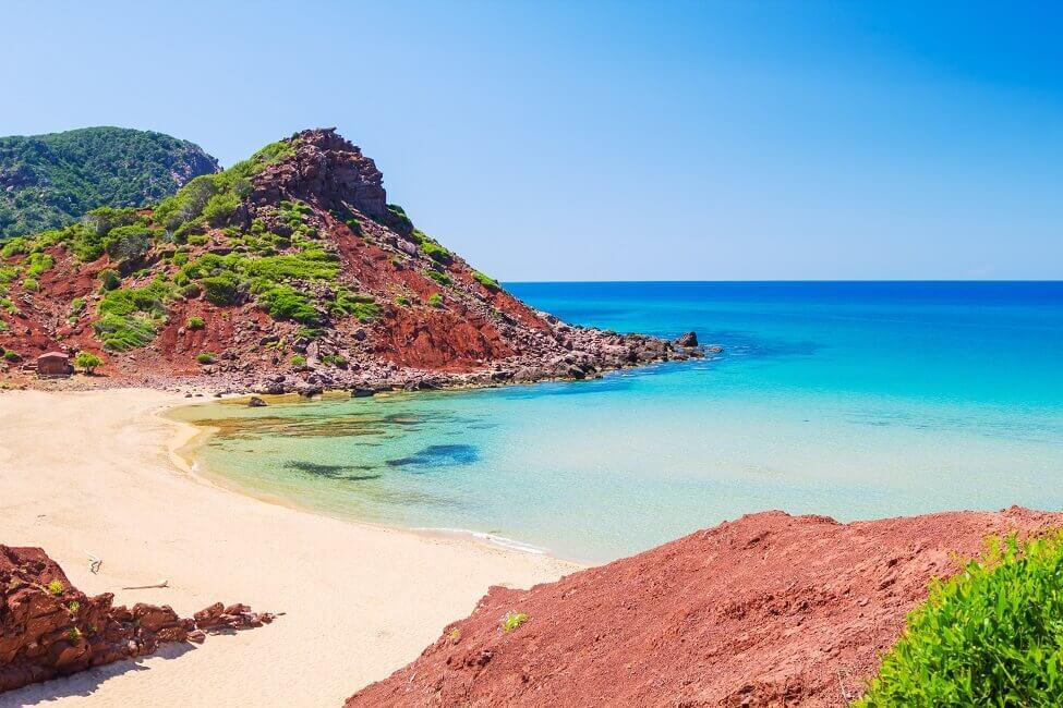 Cala Pilar zählt zu schönsten Stränden Menorcas
