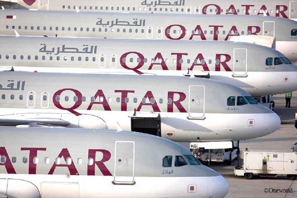 Flotte von Qatar Airways